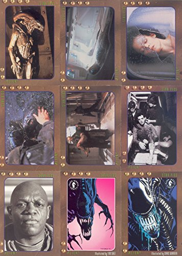 ALIEN 3 THE MOVIE 1992 STAR PICS COMPLETE BASE CARD SET OF 80 - Movie Trading Card Set