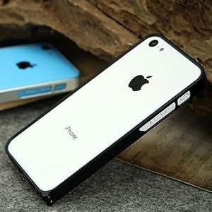 Marco de metal de colores de chasis cubierta de parachoques para el iPhone 5C: Marrones