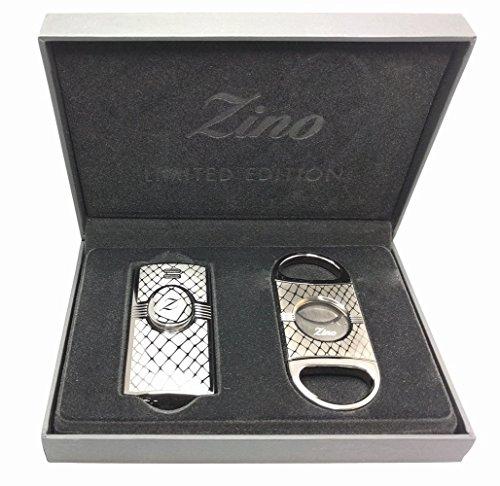 zino-snake-lighter-and-cigar-cutter-gift-set