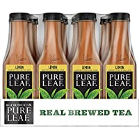 Deals on 12-Pack Pure Leaf Iced Tea, Lemon, Real Brewed Black Tea, 18.5 Ounce