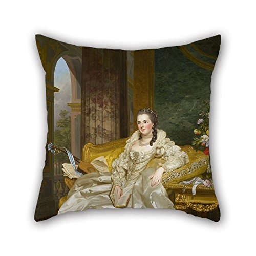 Loveloveu 20 X 20 Inches / 50 By 50 Cm Oil Painting Alexander Roslin - The Comtesse D'Egmont Pignatelli In Spanish Costume Throw Pillow Covers ,both Sides Ornament And Gift (Black Pugs In Costumes)