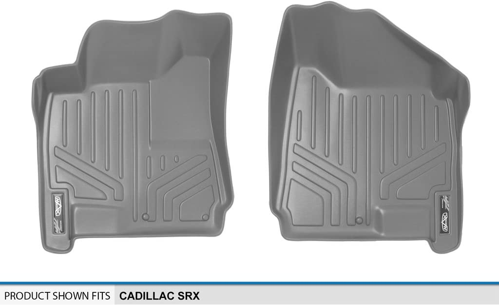 MAXLINER Floor Mats 1st Row Liner Set Grey for 2010-2016 Cadillac SRX