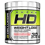 Cellucor SuperHD Thermogenic Fat Burner Powder for Weight Loss, Fat Burners For Men & Women, Strawberry Lemonade, 30 Servings