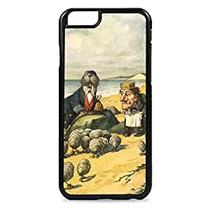 LJF phone case Case Fun Case Fun Alice in Wonderland Walrus and The Carpenter Snap-on Hard Back Case Cover for Apple iPhone 6 4.7 inch