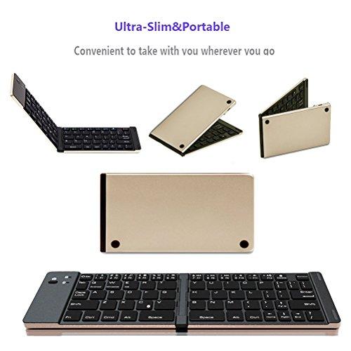 70%OFF Mini Keyboard Folding Keyboard Portable Bluetooth keyboard