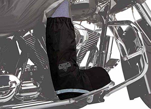 Nelson-Rigg Mens Rain Boot Covers Black Large L
