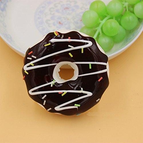 HABAER Jumbo Ultra Soft Kawaii Sandwich Donuts Squishy Stress Ball Toy, 9x3-cm Toy in the UAE ...