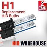 2006 audi a6 ac hid 55 watts - HID-Warehouse AC HID Xenon Replacement Bulbs - H1 8000K - Medium Blue (1 Pair) - 2 Year Warranty