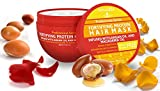 Fortifying-Protein-Hair-Mask-and-Deep-Conditioner-with-Argan-Oil-and-Macadamia-Oil-By-Arvazallia-Hair-Repair-Treatment-for-Damaged-Brittle-or-Thinning-Hair-Promotes-Natural-Hair-Growth