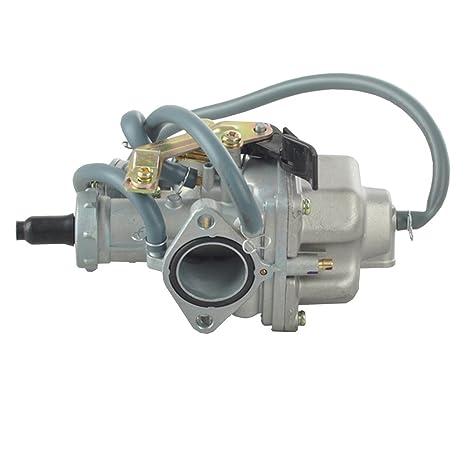 amazon com carburetor honda trx 250 trx250 recon 1997 2001 automotive Honda Recon 250 Carb Diagram