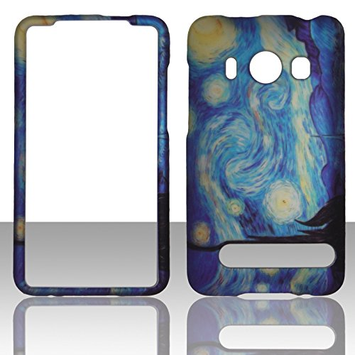 2d-blue-design-htc-evo-4g-sprint-case-cover-hard-phone-case-snap-on-cover-rubberized-touch-faceplate
