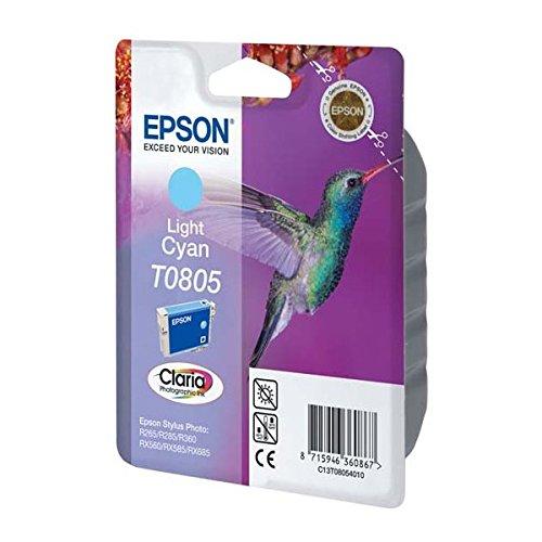 173 opinioni per Epson Originale C13T08054011 Cartuccia Inkjet Blister RS Claria, Ciano Chiaro