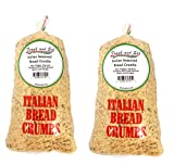 All Natural Seasoned Italian Bread Crumbs No Preservatives or Additives - Frank and Sal Bakery. 2 Pounds