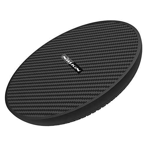 Nillkin PowerFlash MC035 Qi Certified Universal Fast Wireless Charger with Ceramic Coating and Heat Dissipation - 15W Quick Charge Pad for Samsung/iPhone/LG/Sony Phones