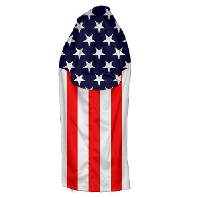 01e15ef03 LightningWear USA Soccer Jersey - USA Soccer Shirts - American Flag Shirts  - America Soccer Red: Amazon.ca: Clothing & Accessories
