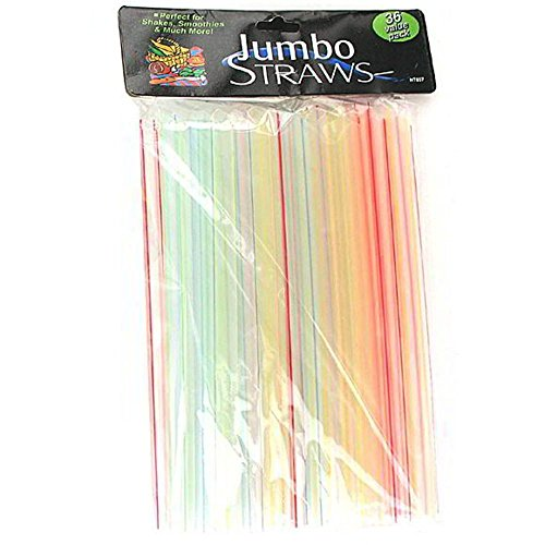 50 Jumbo straws by FindingKing