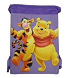 Cheap Purple Winnie the Pooh Drawstring Bag – Kids Drawstring Backpack