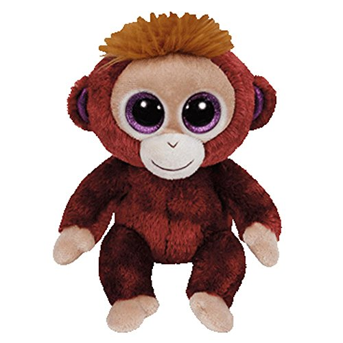 c857210f532 TY Beanie Boo Plush - Boris the Monkey 15 centimetres  Amazon.co.uk  Toys    Games