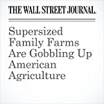 Supersized Family Farms Are Gobbling Up American Agriculture | Jacob Bunge