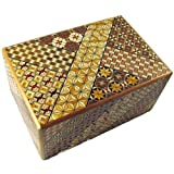 6 Sun 54 Plus 1 Steps Koyosegi Japanese Puzzle Box