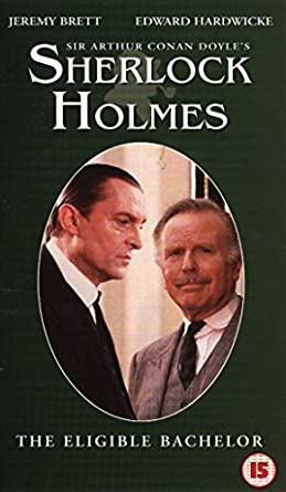 Sherlock Holmes The Eligible Bachelor Vhs Jeremy Brett Edward