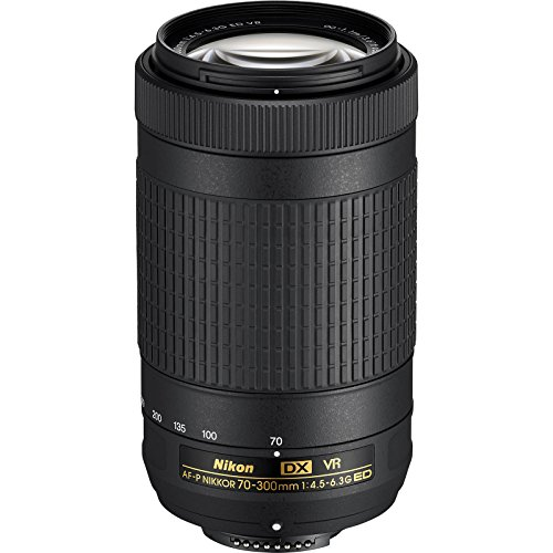 Nikon CRTNK70300KRB 70-300mm f/4.5-6.3G VR DX AF-P ED Zoom-NIKKOR Lens - (Renewed) (Best Wide Lens For Nikon Dx)