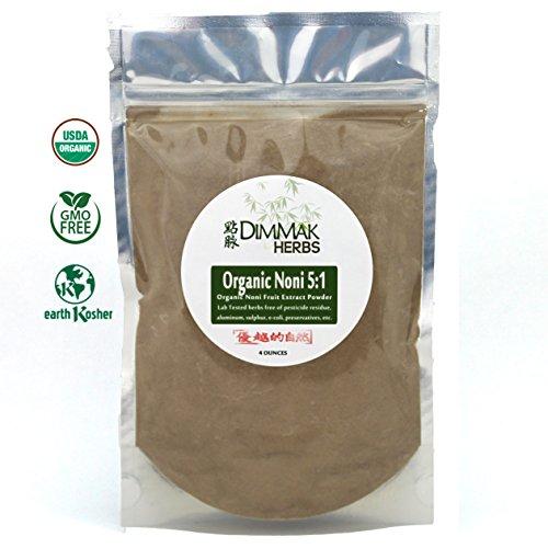 Organic Noni Fruit 5:1 Extract Powder (4oz/112g) | Morinda Citrifolia Whole Noni Fruit Nutraceutical Grade Powder Bulk Review