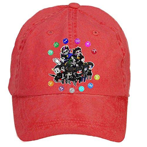 Tommery Unisex Homestuck Hip Hop Baseball Caps (Halloween Mike Myers Death)