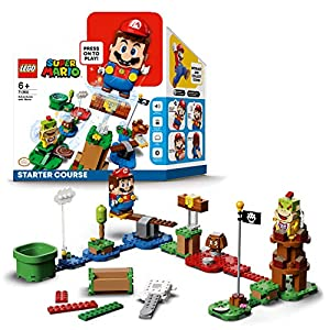 Bundle LEGO Super Mario Long Track con Percorso di Base 71360 e 2 Set di Espansione LEGO