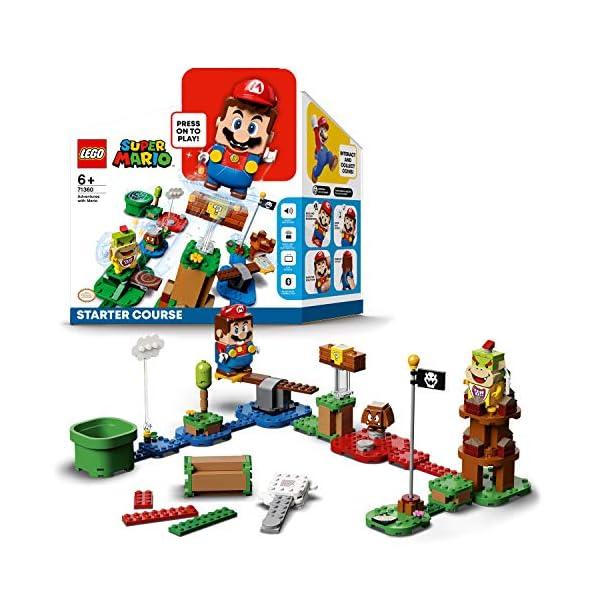 LEGO Super Mario Starter Pack Costruibile per il Percorso di base Avventure con Super Mario, Giocattolo e Idea Regalo… 1 spesavip