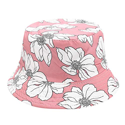 (JIUDASG Women Bob Fishing Cap Hip Hop Outdoor Sports Summer Ladies Beach SunBucket Hat)