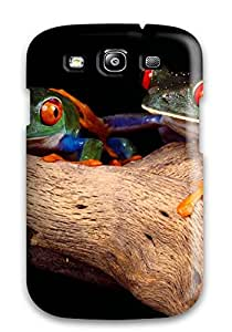 Perfect Fit DJRTGKb8455kMZvh Two Frogs Case For Galaxy - S3