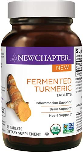 New Chapter Organic Turmeric Supplement product image