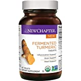 Cheap New Chapter Organic Turmeric Supplement – Fermented Turmeric Tablet for Brain, Heart and Inflammation Support – 96 ct