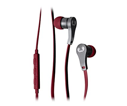 Fresh n Rebel Lace Earbuds | Ruby - Auriculares (Binaurale, Dentro de oído