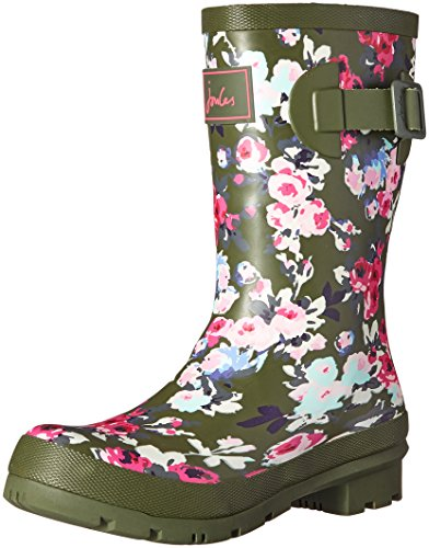 Joules Women's Molly Welly Rain Boot - Soft Khaki Diana D...