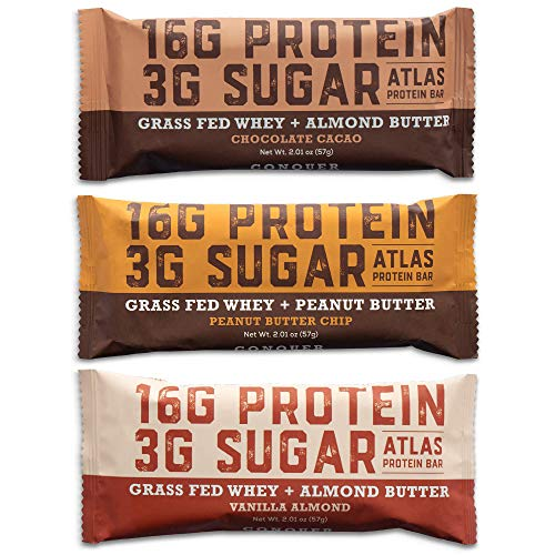 Atlas Protein Bar - Keto Friendly, Variety