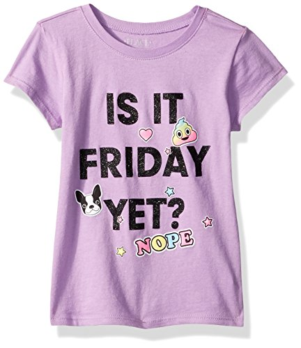 The Children's Place Big Girls' Friday Graphic Tee