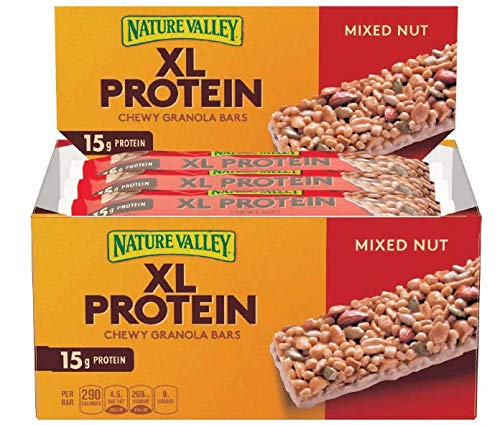 Nature Valley XL Protein Chewy Bar Mixed Nut, 18.90 Pound (Pack of 120) by Nature Valley (Image #1)