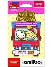 Nintendo Amiibo Animal Crossing New Horizon Sanrio Collaboration Exclusive Pack - 6 Cards