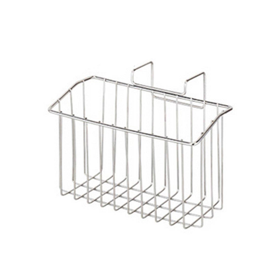 Kitchen Draining Rack,YIFAN Stainless Steel Draining Rack Kitchen Sink Storage Hanging Shelf - Silver by YIFAN