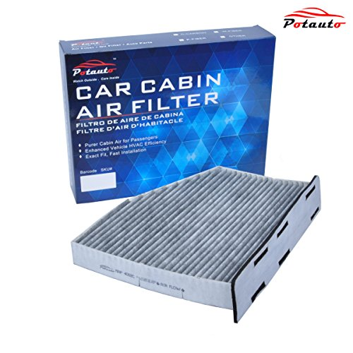POTAUTO MAP 4002C Heavy Activated Carbon Car Cabin Air Filter Replacement compatible with AUDI, VOLKSWAGEN