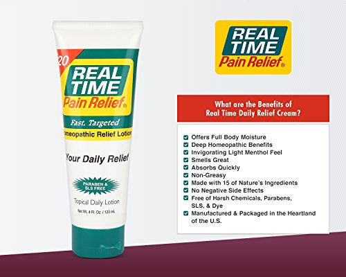 Real Time Pain Relief Stay Active Pack, Sports Cream, Daily Relief, MAXX Relief, 10 Pain Cream Travel Packs by Real Time Pain Relief (Image #7)