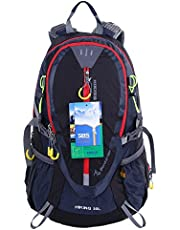EGOGO 30L Outdoor Cycling Hiking Water-Resistant Backpack Running Camping Daypack with Rain Cover S2310 (Orange)
