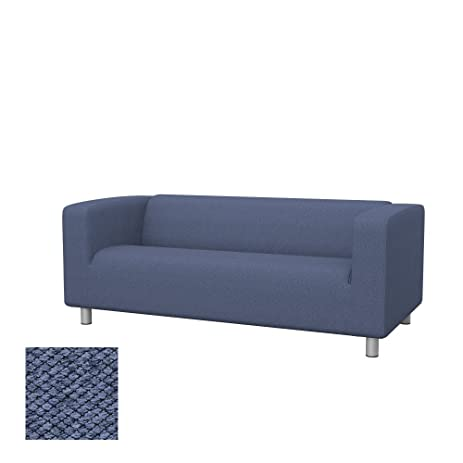 Soferia   IKEA KLIPPAN 2 Seat Sofa Cover, Nordic Denim