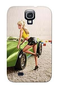 Catenaryoi Anti-scratch And Shatterproof Barbie Phone Case For Galaxy S4/ High Quality Tpu Case wangjiang maoyi