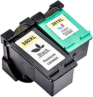 Ouguan - Cartuchos de Tinta remanufacturados para HP 350 XL 351 XL ...