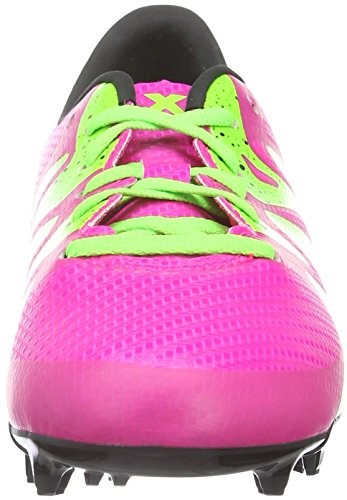 huge discount fc01d df3c5 adidas X 15.3 FG AG, Botas de Fútbol Niños Rosa (Shock Pink S16 ...