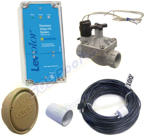 Levolor Electronic Water Leveler (Jandy With 100ft Sensor And Valve Levelor K-1100 K1100CKC)