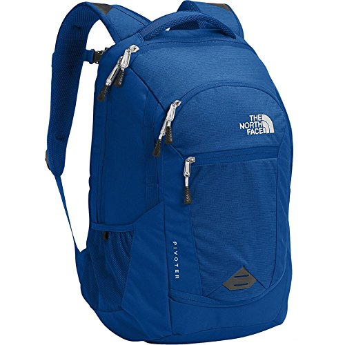 The North Face Pivoter Turkish Sea Heather/Turkish SE Unisex Daypack ()